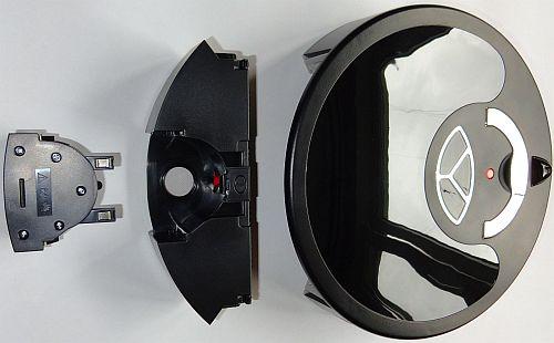 Робот пылесос Xrobot Virage, контейнер для мусора легко разбирается